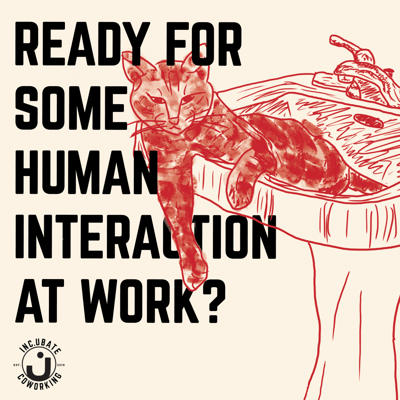 Ready For Some Human Interaction At Work?